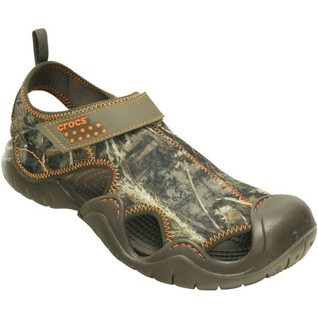 Crocs Mens Swiftwater Realtree Max-5 Clogs