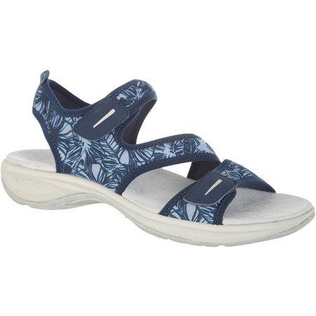 Easy Spirit Womens Explore24 Everso Print Sandals