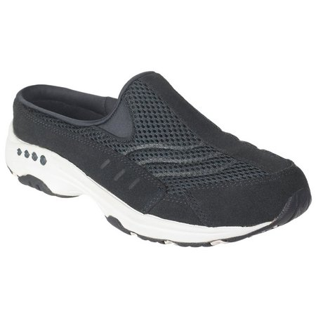 Easy Spirit Womens Traveltime Athletic Mules