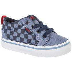 Vans Toddler Boys Bishop Checker Skate Shoes