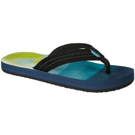 REEF Toddler Boys Ahi Aqua Sandals