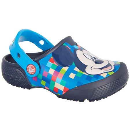 Crocs Toddler Boys FunLab Mickey Clogs