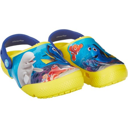 Crocs Toddler Disney Finding Dory Clogs