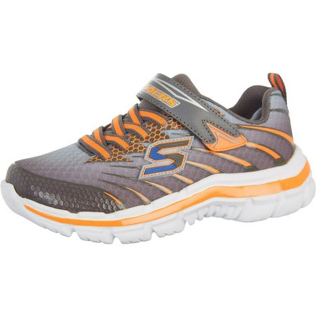 Skechers Boys Nitrate Pulsar Athletic Shoes