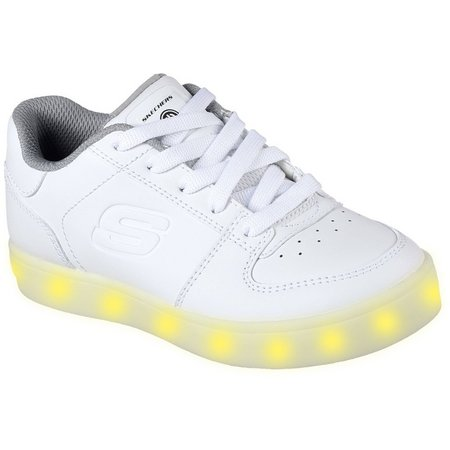 Skechers Boys Energy Lights Elate Athletic Shoes