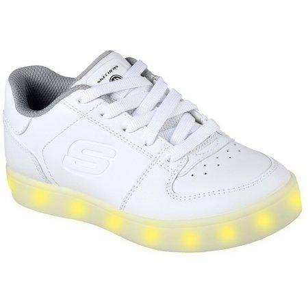 Skechers Boys Energy Lights Elate Athletic Shoes