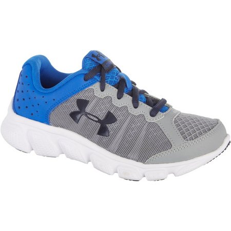 New! Under Armour Boys Assert 6 PS Grey