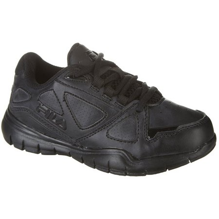 New! Fila Boys Side By Side Athletic Shoes