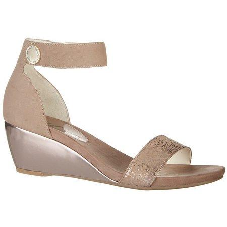 AK Sport Womens Calbert Wedge Sandals