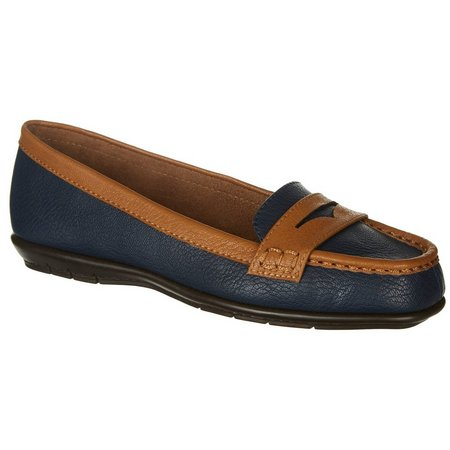 A2 by Aerosoles Womens Sandbar Penny Loafers