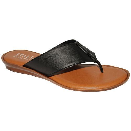 203d2dd080a7 Italian Shoemakers Womens Thong Sandals