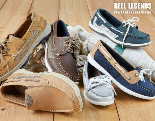 Reel Legends Boat Shoes
