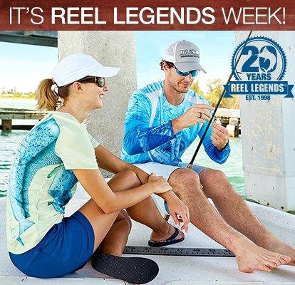 It's Reel Legends Week! Celebrating 20 Year | Florida's #1 Fishing Brand