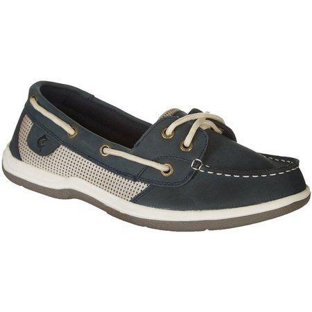 Reel Legends Womens Sanibel Boat Shoes