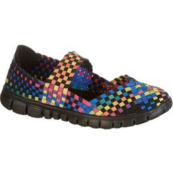 Coral Bay Womens Cassie Multi Color Slip On