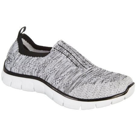 Skechers Womens Inside Look Relaxed Fit Shoes