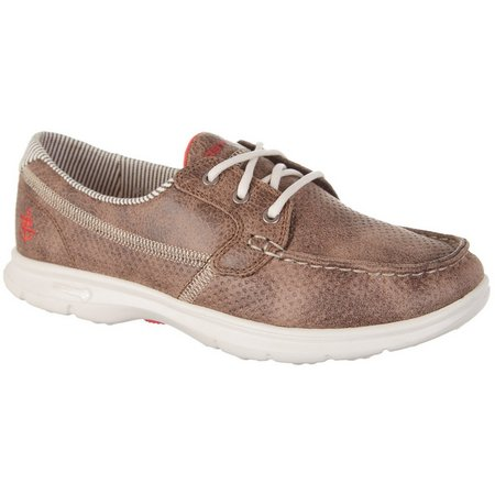 Skechers Womens GO STEP Shore Boat Shoes