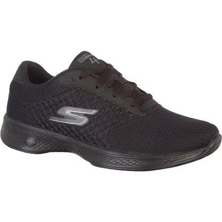 Skechers Womens GOwalk 4 Exceed Walking Shoes
