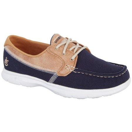 Skechers Womens GO STEP Seashore Boat Shoes