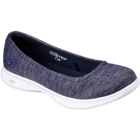 Skechers Womens GO STEP Lite Streak Athletic Shoes