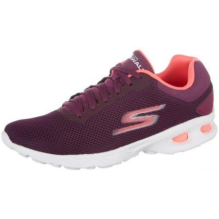 Skechers Womens GOwalk Zip Athletic Shoes