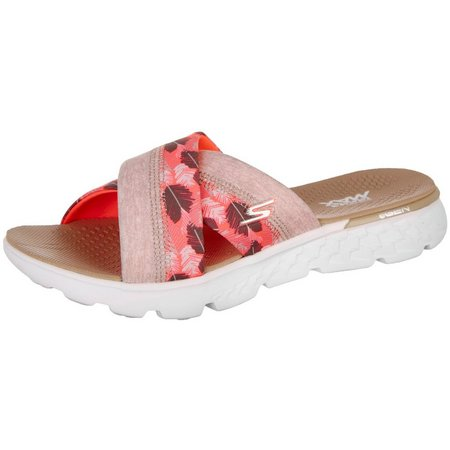 Skechers Womens On The Go 400 Tropical Sandals