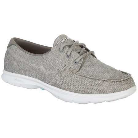 Skechers Womens GO STEP Excape Boat Shoes