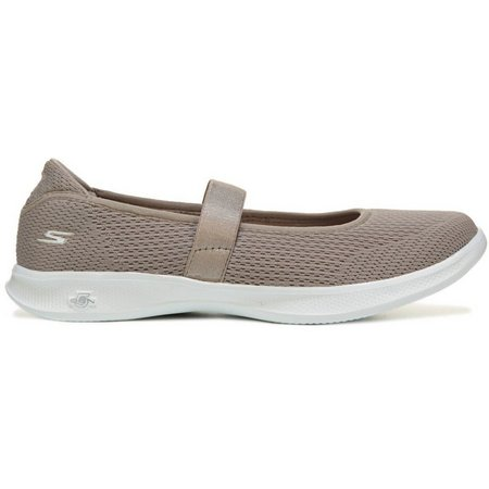 Skechers Womens GO STEP Lite Blooming Shoes