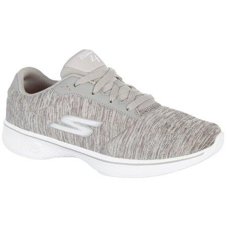 Skechers Womens GOwalk 4 Serenity Athletic Shoes