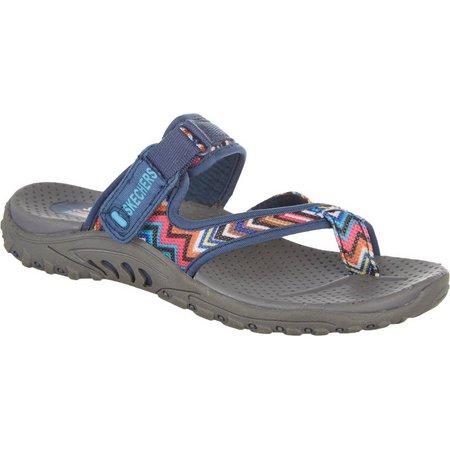Skechers Womens Zig Swag Casual Sandals