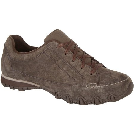 Skechers Womens Bikers Curbed Relaxed Fit Shoes