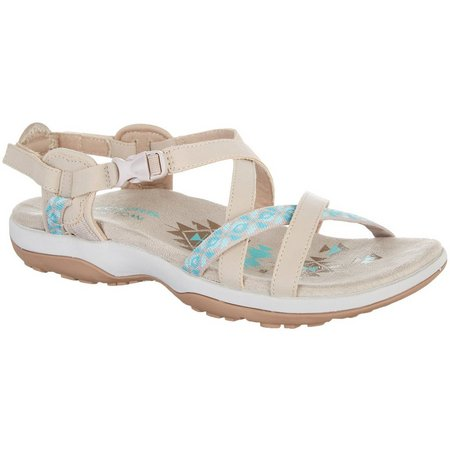 Skechers Womens Reggae Slim Vacay Relaxed Sandals