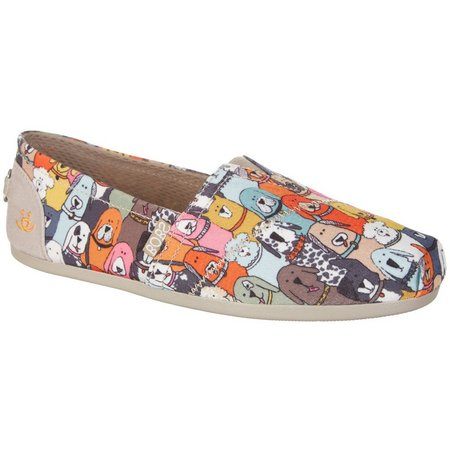 New! Skechers Womens Bobs Wag Party Loafers