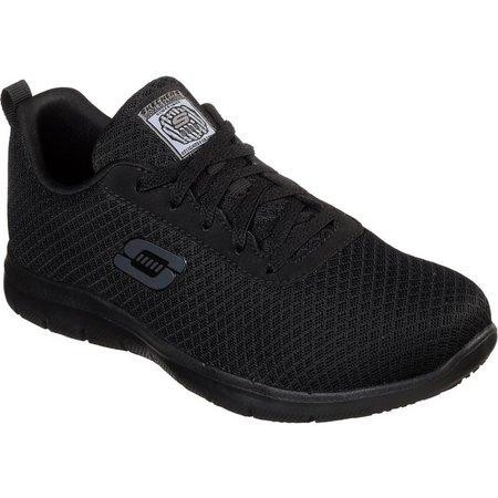 Skechers Womens Bronaugh Slip Resistant Work Shoes