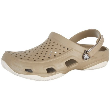 Crocs Mens Swiftwater Deck Clogs