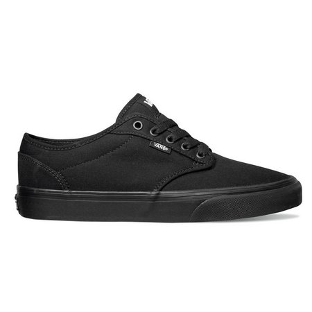 Vans Mens Atwood Black Canvas Skate Shoes