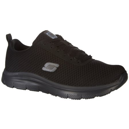 Skechers Mens Bendon Work Shoes