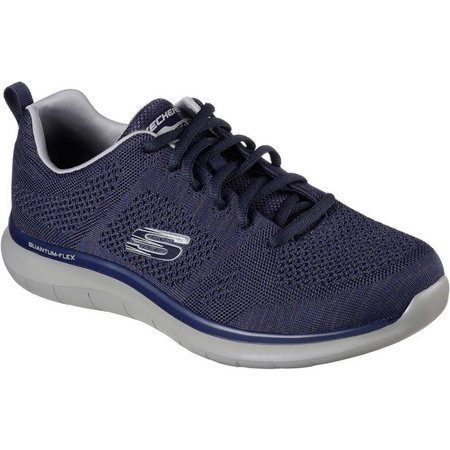 Skechers Mens Quantum Flex Athletic Shoes