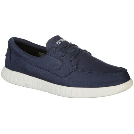 Skechers Mens On The Go Mariner Boat Shoes