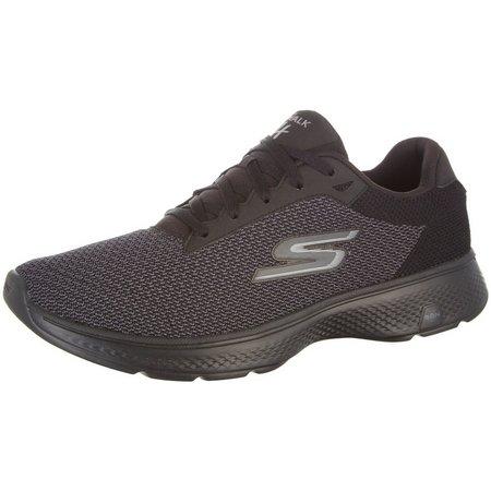 Skechers Mens GOwalk 4 Noble Athletic Shoes