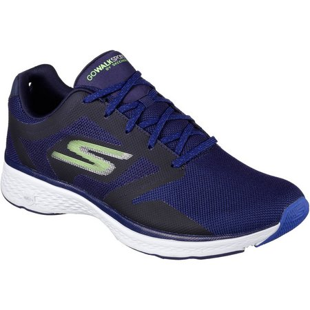 Skechers Mens GOwalk 4 Sport Power Athletic Shoes