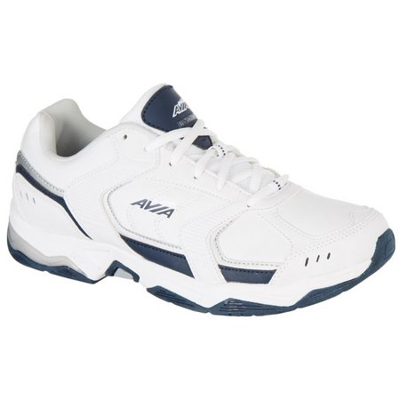 Avia Mens Avi Tangent White Cross Training Shoes
