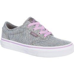 Vans Girls Atwood Grey Multi Shoes
