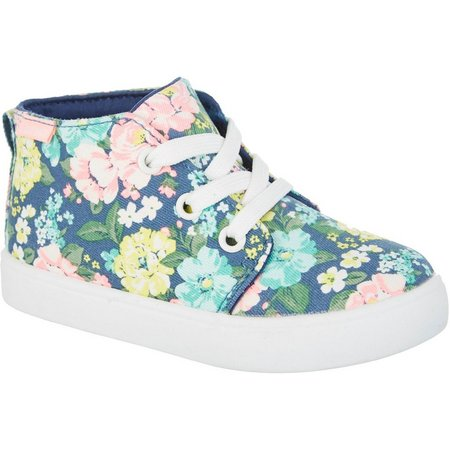 Carters Girls Floral Midi Shoes