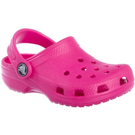 Crocs Toddler Girls Cayman Clogs
