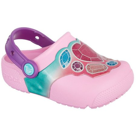 Crocs Toddler Girls Lightup Gemstone Clogs