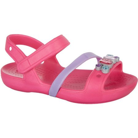 Crocs Toddler Girls Linda Sandals