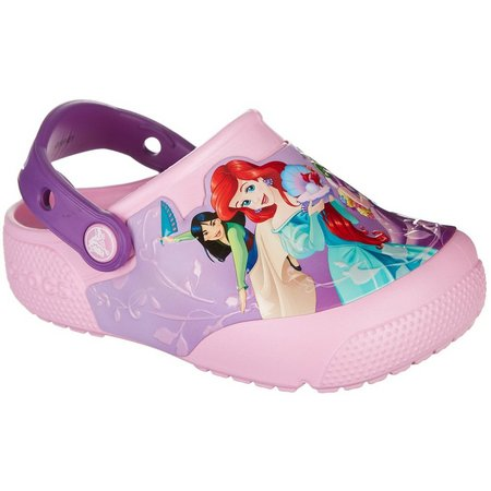 Crocs Toddler Girls Fun Lab Lights Princess Clogs