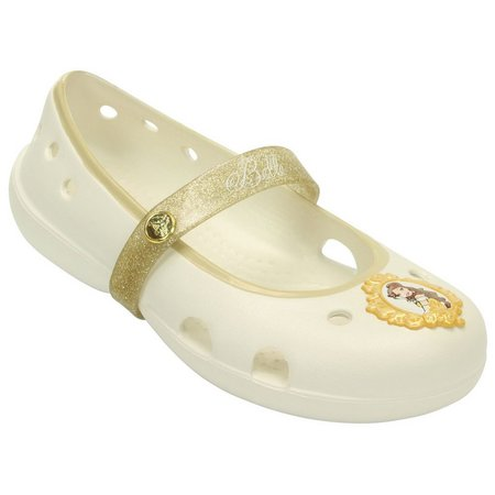 Crocs Girls Keeley Disney Belle Flats