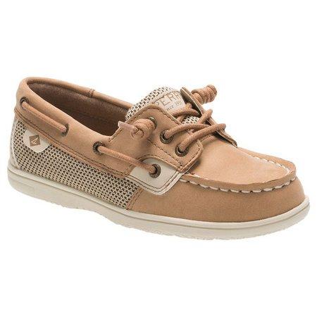 Sperry Toddler Girls Shoreride Boat Shoes